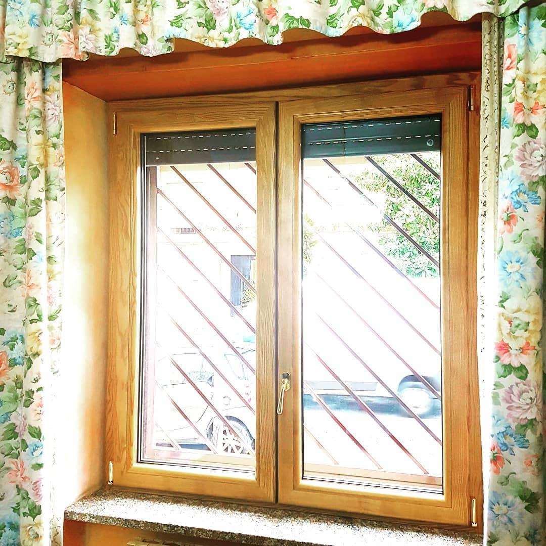 finestre alluminio legno Roma Est
